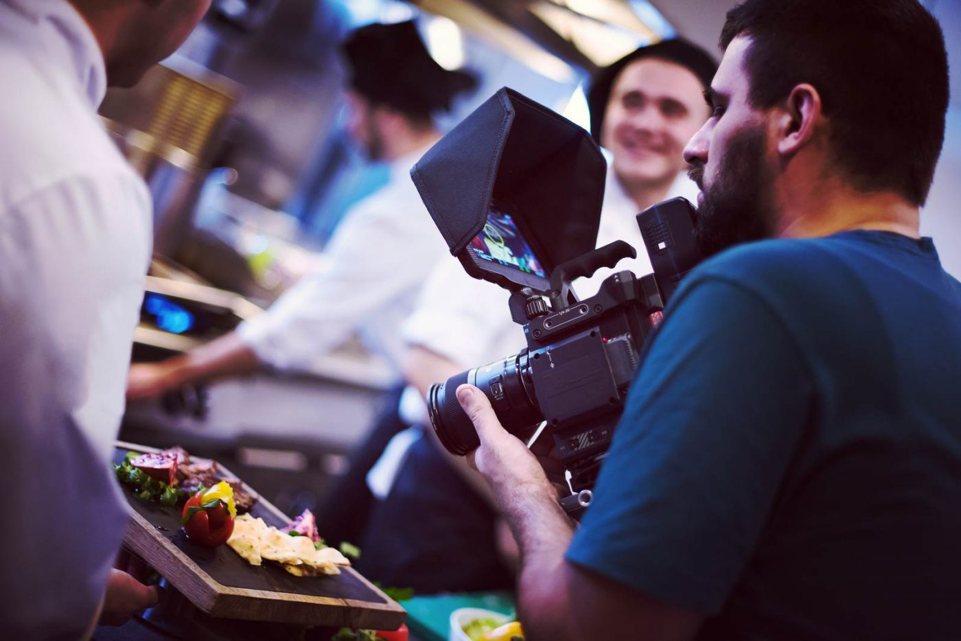 commercial videography team shoots video in Colorado Springs